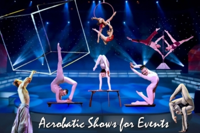 Astonishing & stunning acrobats for events!
