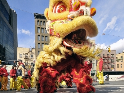 Lion Dance Traditional